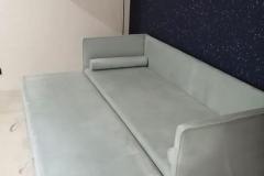 Диван - кровать с механизмом раскладывания дельфин✔ ▫Ткань Chistetika Атмосфера 670 ▫ППУ memory foam ▫Спальное место (а сложённом виде) 800*2000 мм Будем рады Вашим ❤ #дивандельфин #диваны #мягкаямебель
