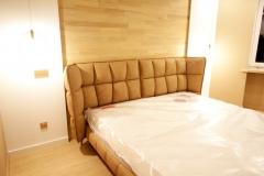 Кровать доступна к заказу в любых размерах и цветах. ▫Подобрать нужный Вам цвет,ткань Вы можете в нашей студии на Лизюкова 2 Б 📞+7951-565-35-22 ▫Размеры данной кровати: Ширина 2300 мм Высота 1070 мм Глубина 2330 мм Спальное место 2000*1800 мм