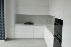 Кухня белый глянец с интегрированной ручкой в Воронеже