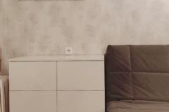 Мебель для детской готова и установлена✔ Материалы: ▫Фасады МДФ Эмаль глянец ▫Белый корпус - Egger ▫Направляющие Hettich/Pulse + push to open ▫Петли Pulse + tip on ▫Опора стола,каркас из металла для тумбы под тв (профиль 25*25 мм), менсолодержатели для полок,заглушка для проводов - порошковая окраска в Ral 9037 матовый ▫Опора колесная МДМ комплект ▫Стол - Бетон Чикаго тёмно-серый Egger Если Вам понравилась Мебель,будем рады Вашим ❤ #мебельдлядетскоймосква #мебельдлядетскойворонеж #мебельвворонеже #мебельворонеж #квартирныйответворонеж