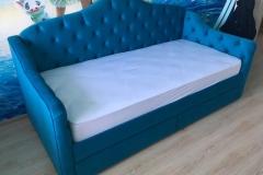 Две Кровати для двух девочек готовы✔ ▫ткань Egida Enigma 33 ▫размер спального места 900*2000 мм
