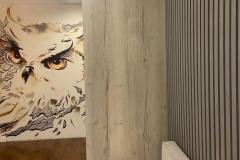 Шкаф по проекту дизайнера нашей студии Евгении @evagenialove готов и установлен✔ ▫Дуб Галифакс белый - один из наших любимых декоров ▫Ручки от @mdm_furnitura_vrn 🔸Обратите внимание на скос шкафа! А как вам? #шкаф #мебельназаказворонеж #квартирныйответворонеж