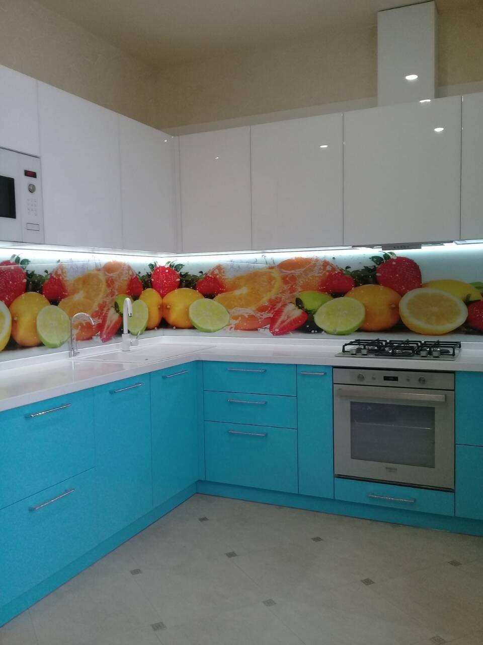 Кухни с акриловыми фасадами ADELKREIS в Воронеже