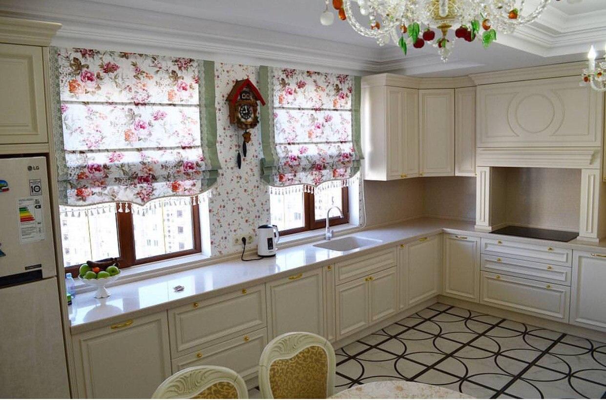 Кухня в стиле прованс. Кухня в стиле прованс на заказ в Воронеже. Мебель на заказ в Воронеже по индивидуальным проектам и размерам.