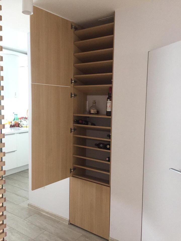 винный шкаф на заказ по индивидуальным проектам, мебель на заказ в воронеже, мебель в Воронеже, Виный шкаф на заказ в Воронеже